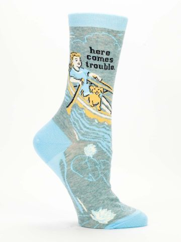 Here Comes Trouble Socks